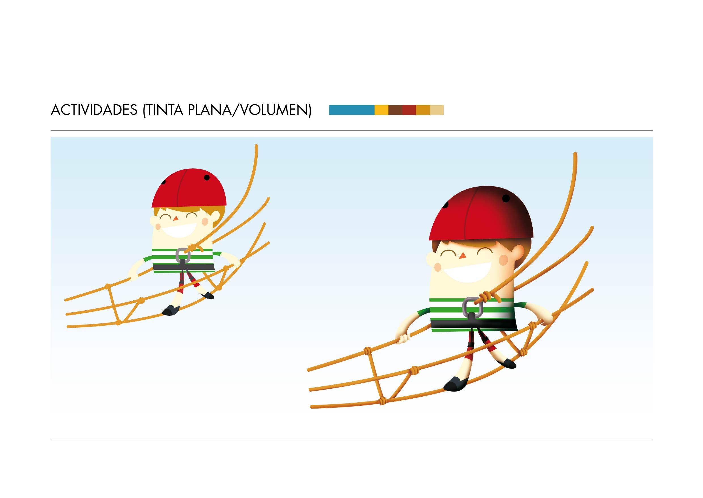 diseno personajes chico puente tibetano