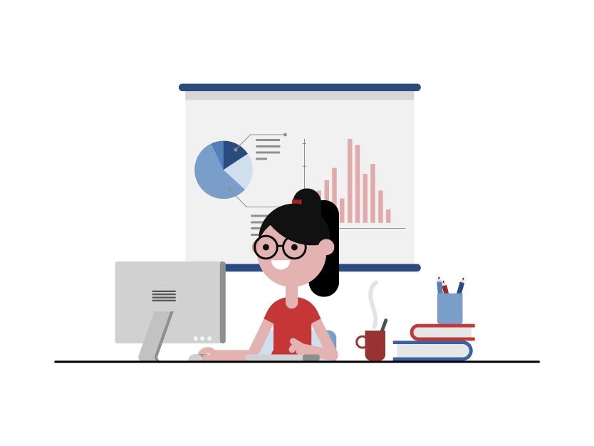 ilustracion finanzas basicas escolares profesores